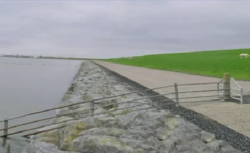 Waterschap Friesland aan de slag met Waddenzeedijk