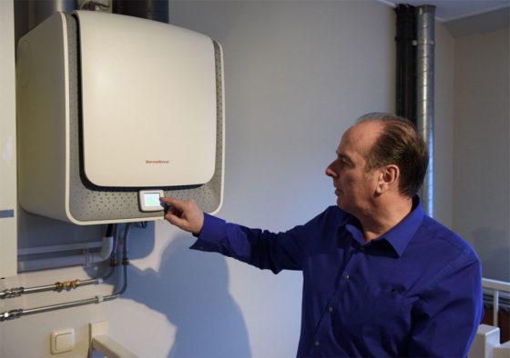 Mini warmtepomp voor de retrofit-markt