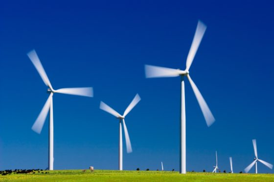 Windturbines stil na afbreken tip
