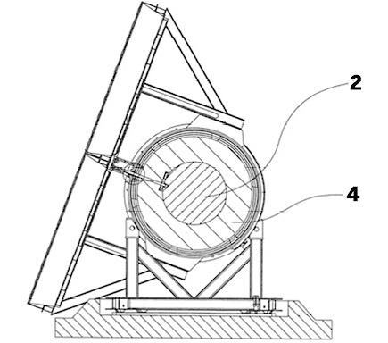 Het octrooi: Zonnecollector slaat tijdelijk warmte op in eigen kern