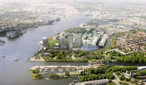 Bouw twee hoge torens Amsterdam-Noord gestart