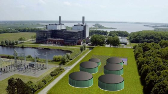 Drijvend zonnepark en biovergister op ENGIE-centrale Burgum