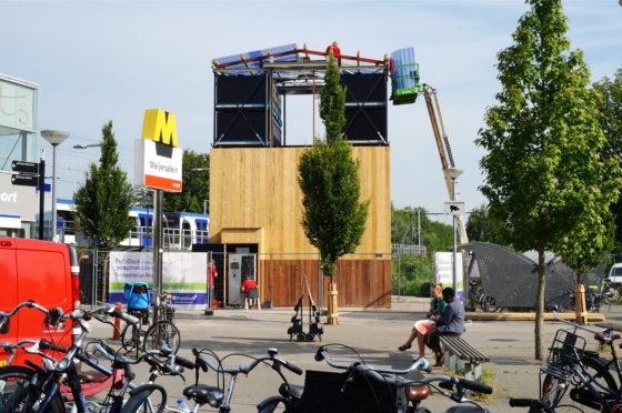 Rotterdam heeft primeur met eerste Nederlandse fietslift