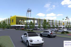Dijkstra Draisma mikt op eerste energieneutrale voetbalstadion