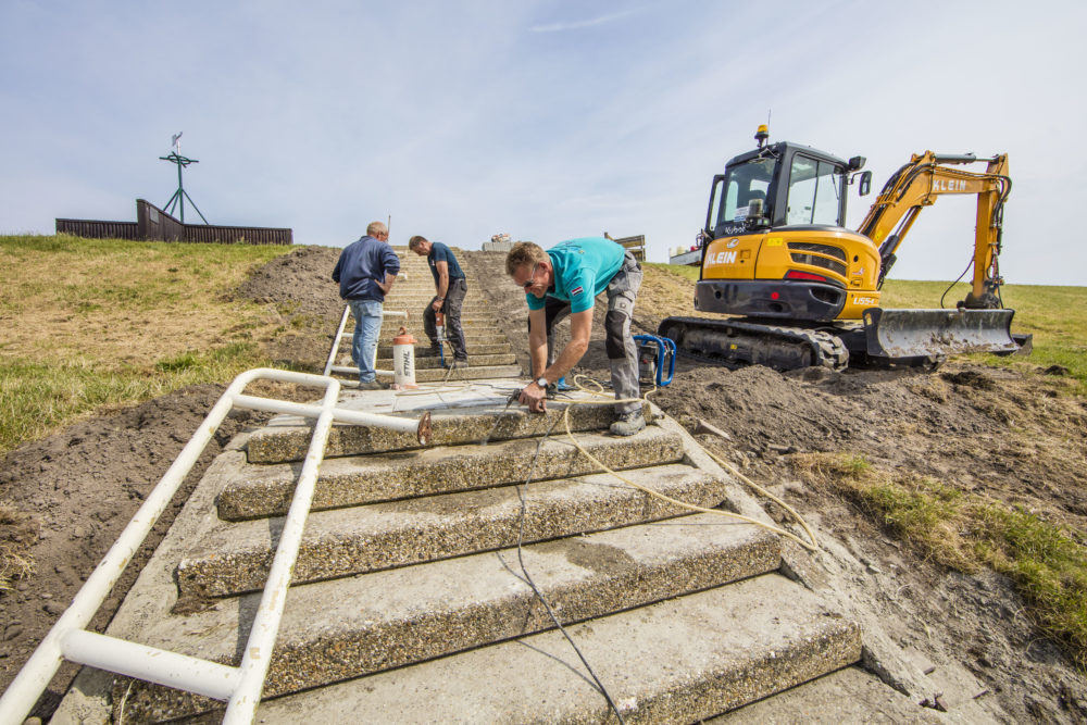 Nieuwe trappen voor SAIL