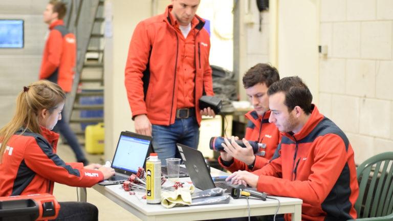 ON!Track Software voor materieelbeheer Hilti Nederland