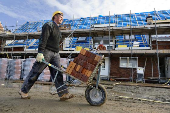 UWV: Vacatures bouw nemen komende jaren licht af