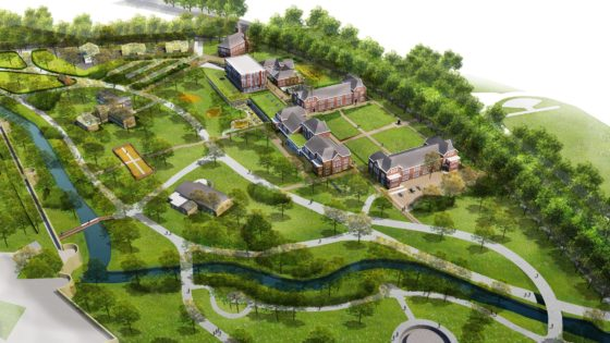 Tapijnkazerne Maastricht verandert in stadspark met 'leerlandschap'