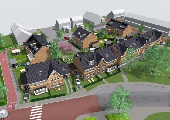 Woonwijkje op plek oude raadhuis 's-Gravendeel