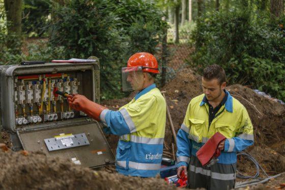 Alliander waarschuwt bouwers voor problemen bij werk aan energienet