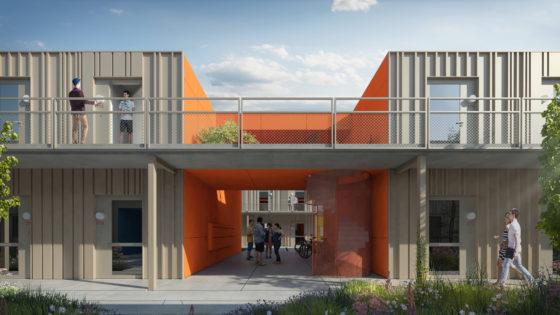De Meeuw gaat 118 tijdelijke woningen in Purmerend bouwen