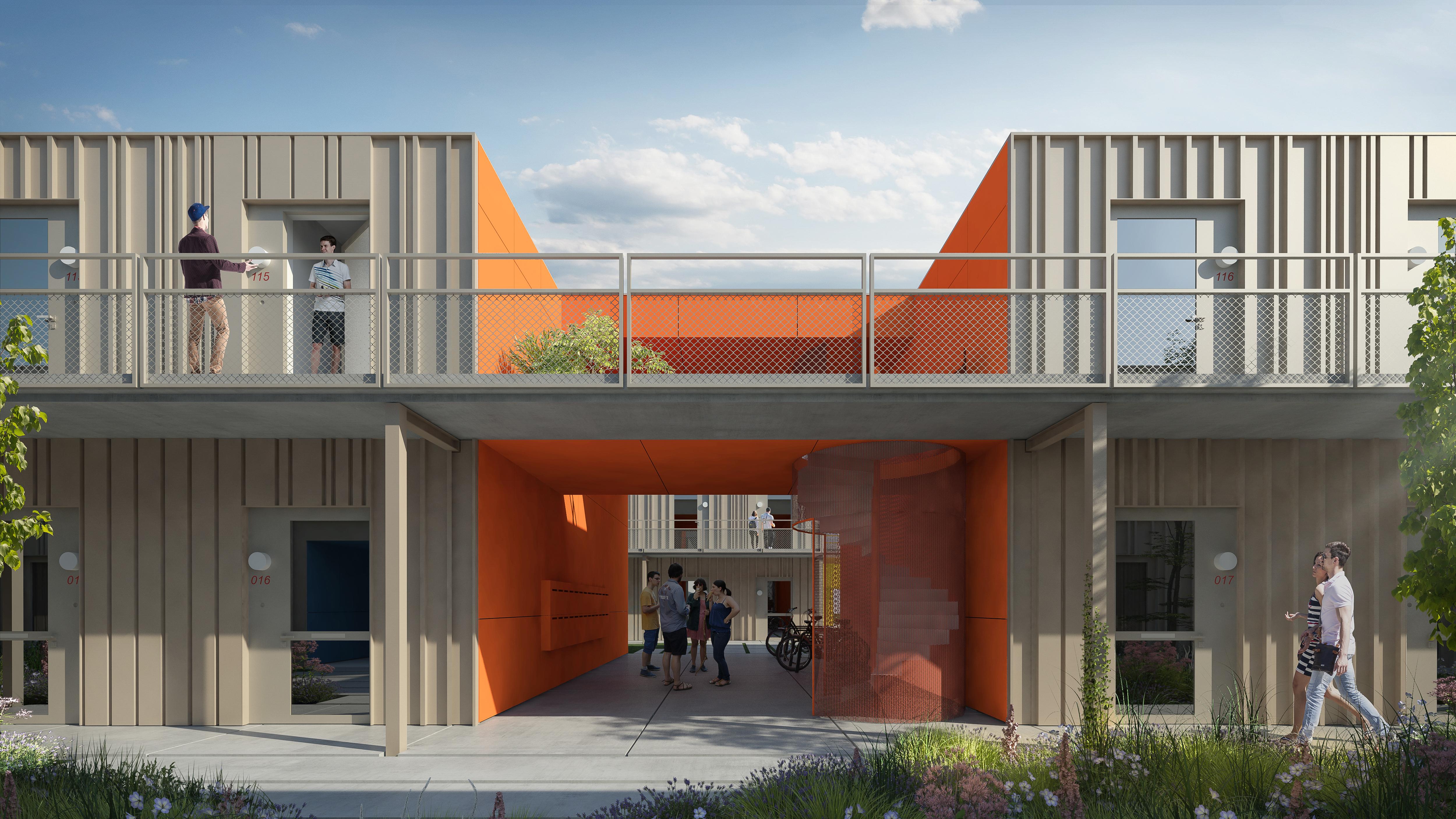 Een project van Nezzt in Amsterdam voor Stadgenoot.
