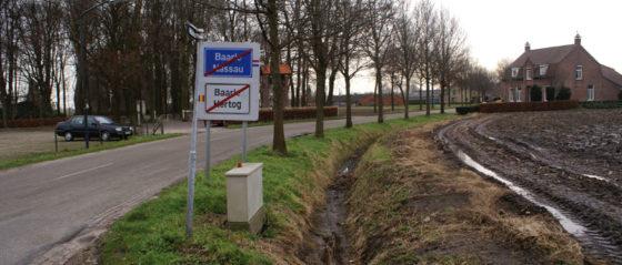 Randweg N260 Baarle: één weg door twee landen