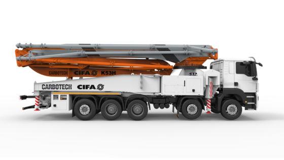 Van der Spek Vianen gaat Cifa betonmixers verkopen