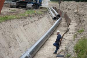 Tunnel verdringt oliepijpleiding