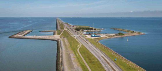 BAM, Van Oord en Rebel slepen mega-contract Afsluitdijk binnen