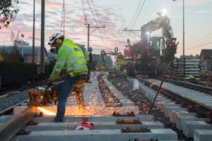 Topdrukte op het spoor: dat vereist rails in topconditie