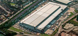 Bij Southampton bouwde Van de Ven een bedrijfshal voor Lidl.
