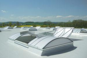 Een gat in het dak: daklichten