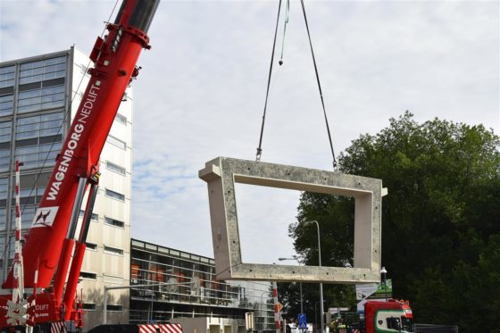 Aanpak Ring Zuid komt op stoom met plaatsing tunnelelementen