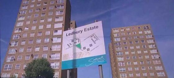 Instortingsgevaar vier Londense flats