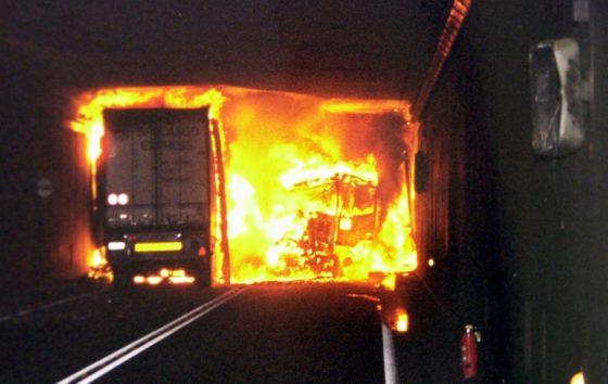Beton in tunnels blijkt niet bestand tegen brand