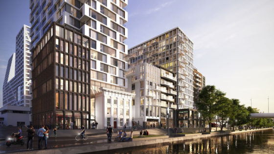 Rijksmonument wordt 'opgenomen' in 90 meter hoge woontoren Utrecht