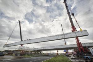 List voor loodzware 61 meter lange liggers over de A12