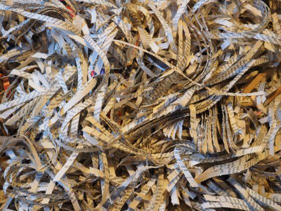 Foutje bedankt: bouwarchief Tiel per ongeluk door papierversnipperaar