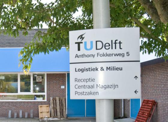 Brand in TU-gebouw in Delft