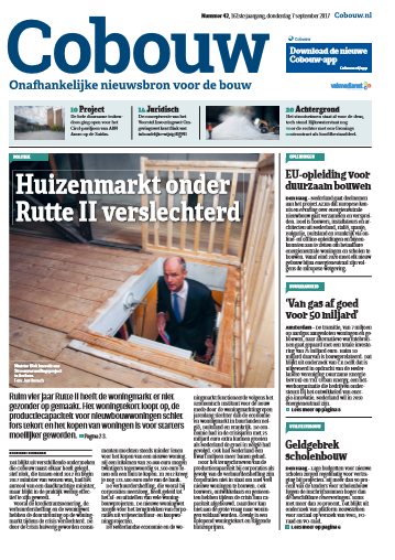 Cobouw 7 september 2017