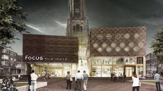 Focus Filmtheater Arnhem met buitenbios op dakterras