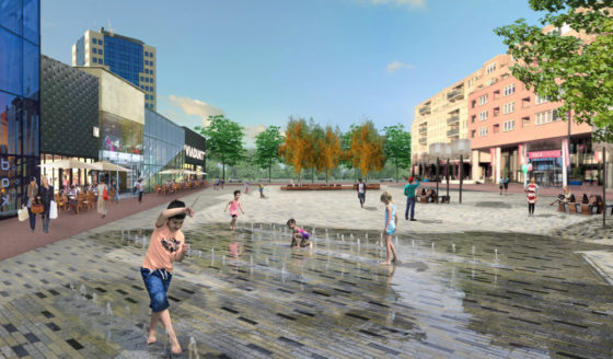Nieuw Stadsplein Capelle voelt aan als 'huiskamer met veel groen'