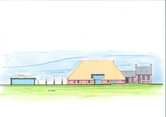 Predikant bouwt aan nieuw klooster in Friese Jorwert