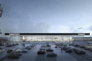 Schiphol kiest voor strakke terminal van KAAN