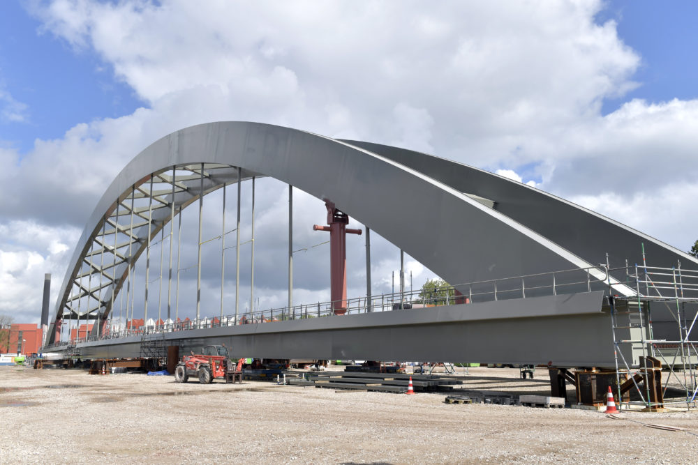Extra spoorbrug Utrecht