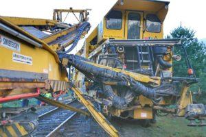 Ombouwtrein botst achterop dwarsliggertrein bij Venray