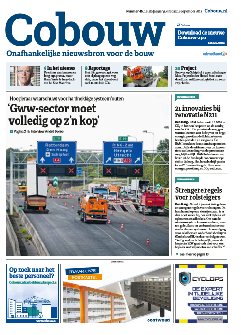 Cobouw 19 september 2017