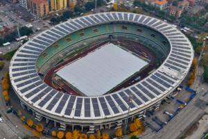 Solar daksystemen met waterdichte, fotovoltaïsche modules