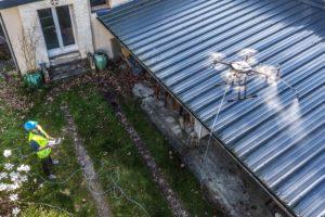 Je dak schrobben doe je met een drone
