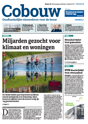Cobouw 21 september 2017