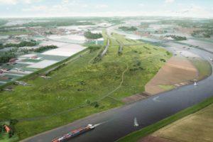Twee nieuwe dijktypen gaan Limburg onzichtbaar beschermen
