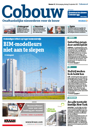 Cobouw 26 september 2017