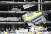 BAM start sloop parkeergarage Eindhoven in januari