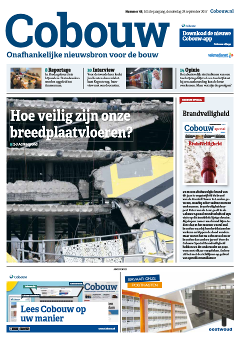 Cobouw 28 september 2017