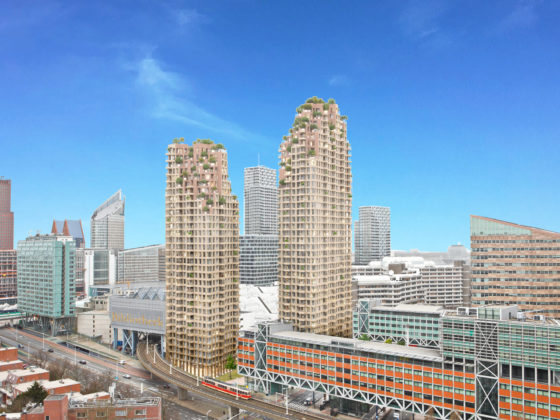 """Winy Maas: """"Er kunnen makkelijk honderd hoge woontorens bij in Den Haag"""""""