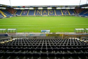 Ruzie over rekening herstel betonrot stadion NAC