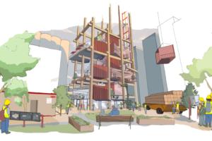 Google-zus bouwt stad van de toekomst
