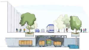 'Wonen in de stad moet goedkoper, gezonder, groener, prettiger en opwindend worden', zeggen de makers van de nieuwe stadswijk.