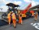 Aanleg self healing asfalt op bast terrein in duitsland 80x62